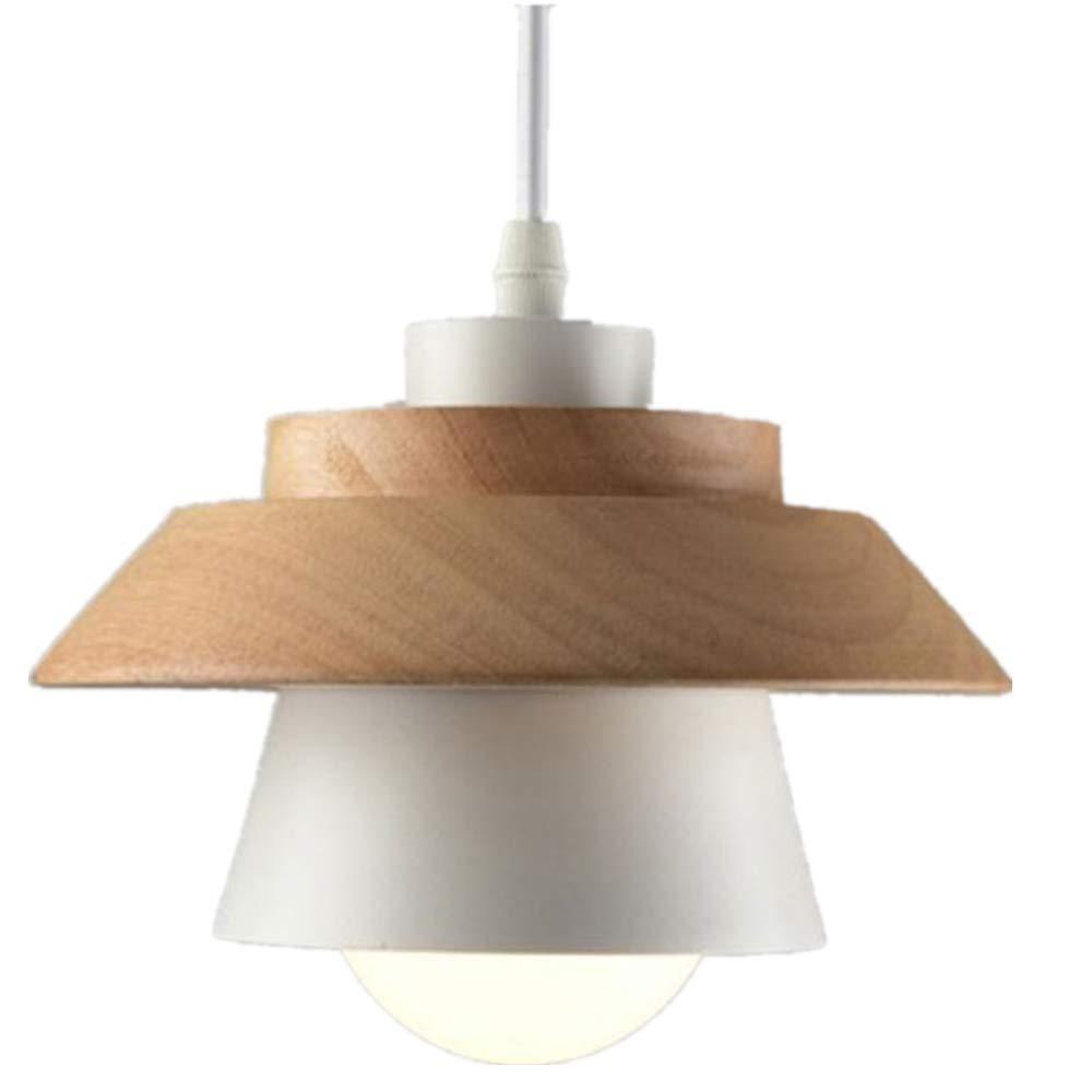 lampara techo madera