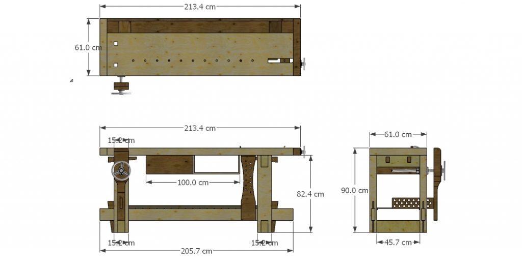 banco de carpintero planos pdf, banco de carpintero planos y medidas pdf